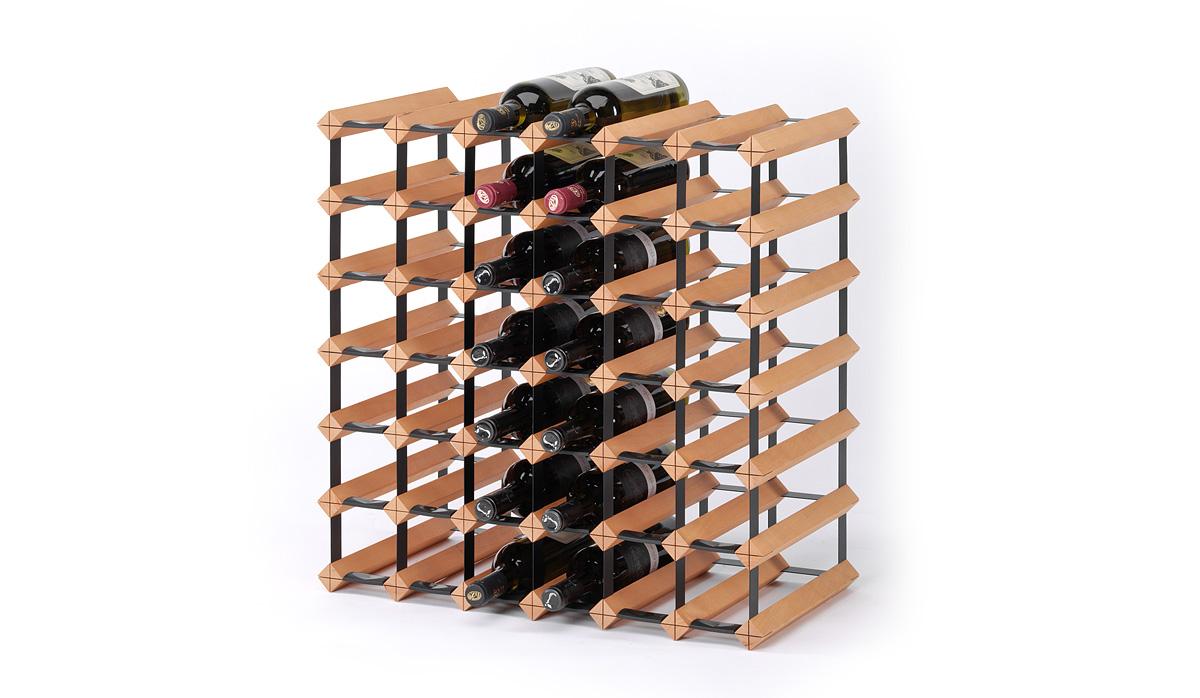 holz weinregal raxi classic 9 flaschen weinregale raxi. Black Bedroom Furniture Sets. Home Design Ideas