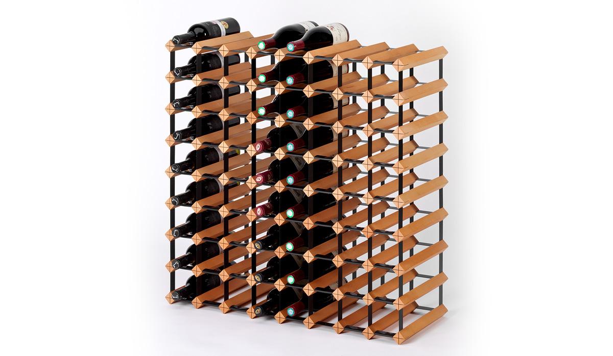 Holz Weinregal Raxi Classic 72 Flaschen Weinregale Raxi