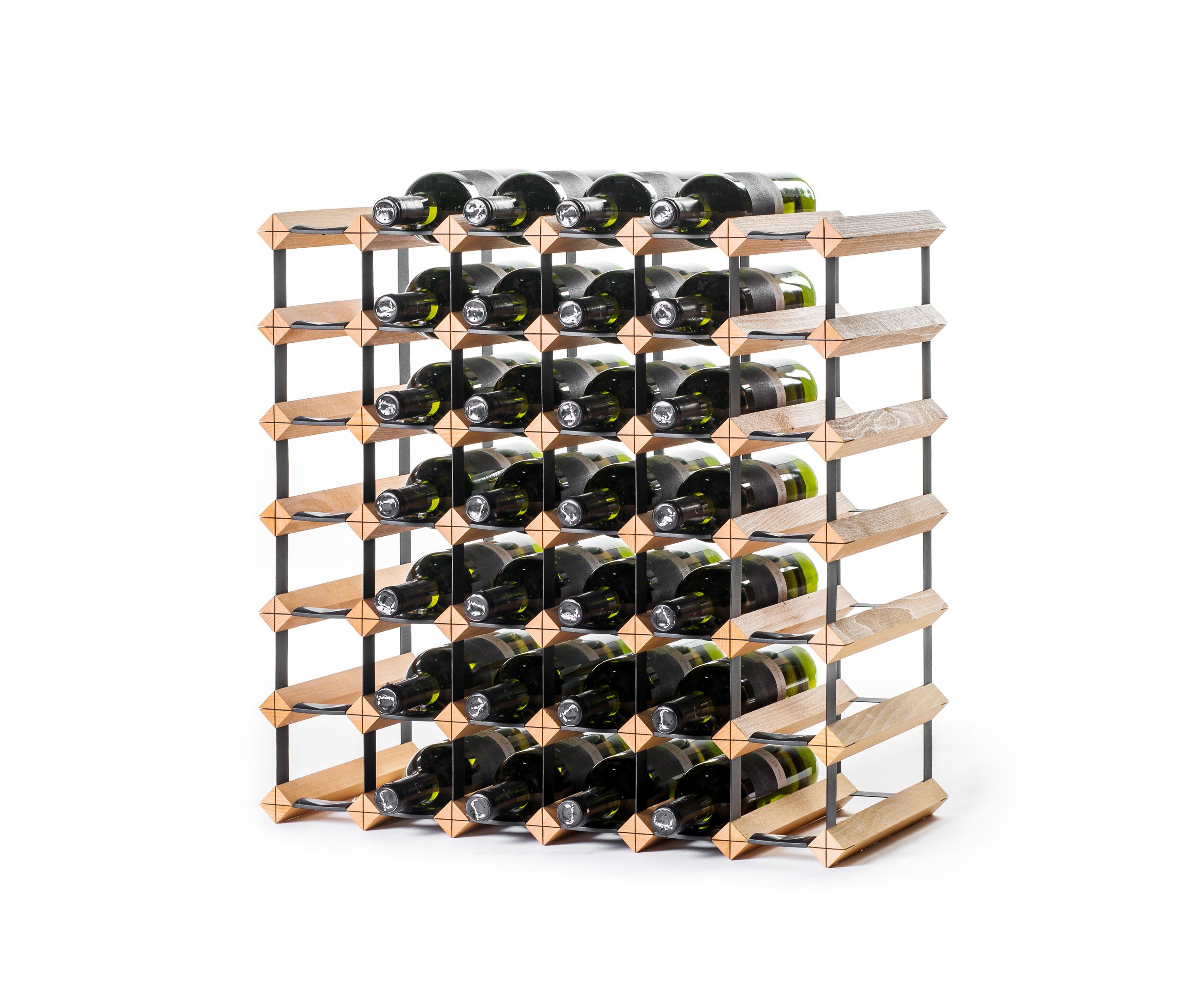 holz weinregal raxi classic 42 flaschen - weinregale raxi