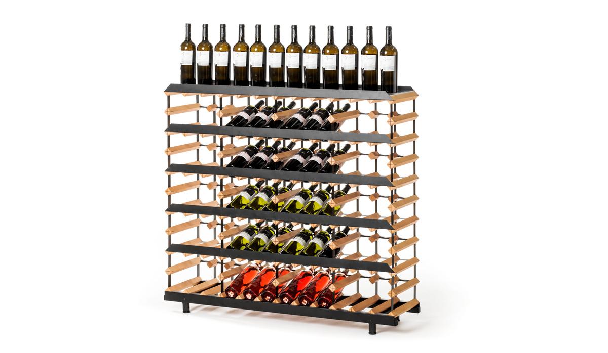 holz weinregal raxi pr sentation 60 flaschen weinregale raxi. Black Bedroom Furniture Sets. Home Design Ideas